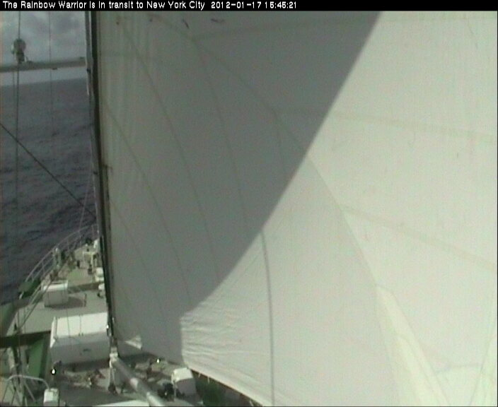 Rainbow Warrior webcam